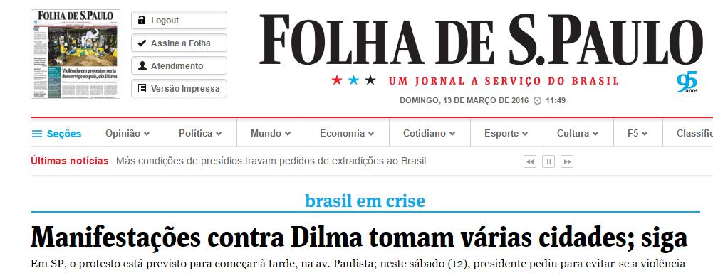 Folha-Contra Dilma